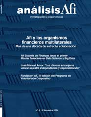 An�lisis Afi, N� 6, II semestre 2014
