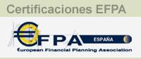 Certificaciones EFPA